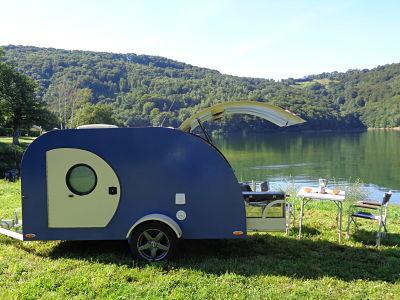 fabricant mini caravane teardrop sur mesure faites en atelier sans aucune sous traitance. Black Bedroom Furniture Sets. Home Design Ideas